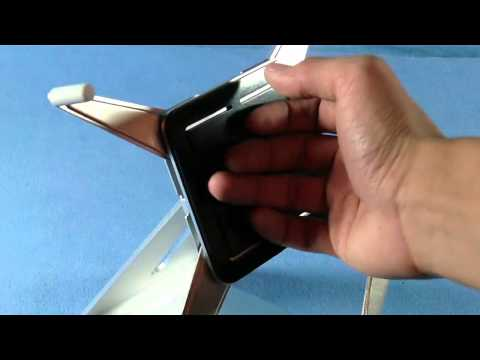 Luxa2 H4 Aluminum iPad Stand Review (HD)