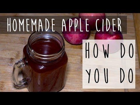Homemade Apple Cider || Slow Cooker Apple Cider from Scratch