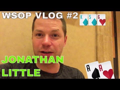 WSOP 2017 Vlogs - The Jonathan Little Vlog #2