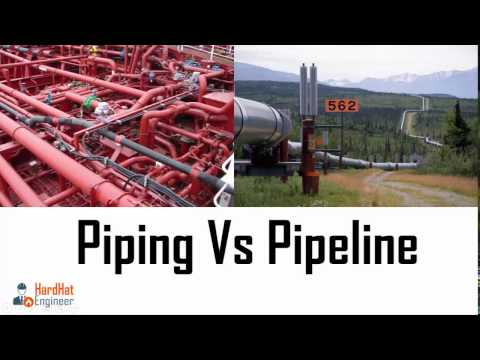 What is The Difference Between Piping and Pipeline. Piping Vs Pipeline