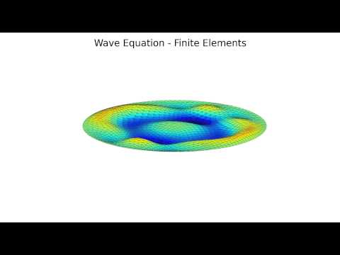 Wave Equation - Finite Elements