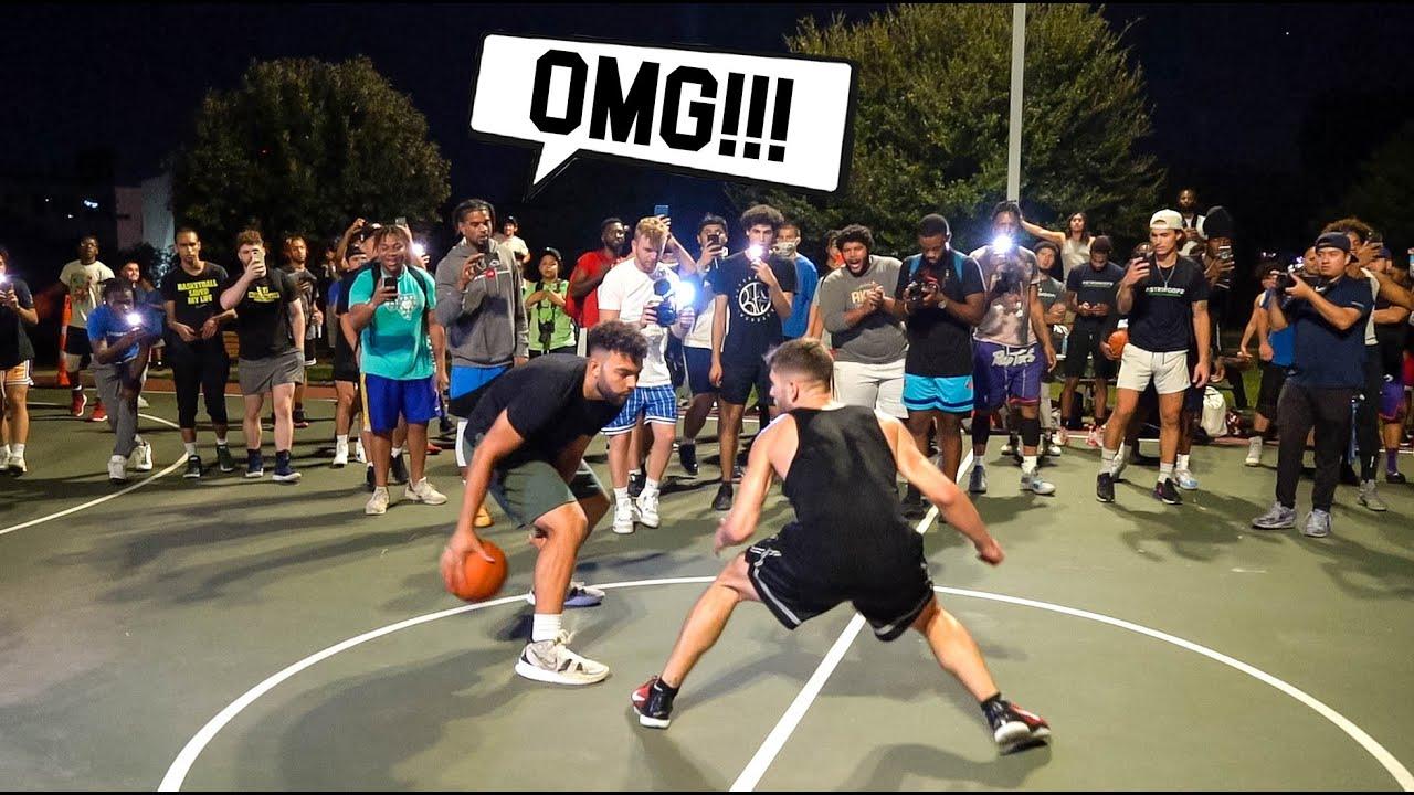 Rematch Vs Friga Was INSANE!! 5v5 Basketball At The Park !