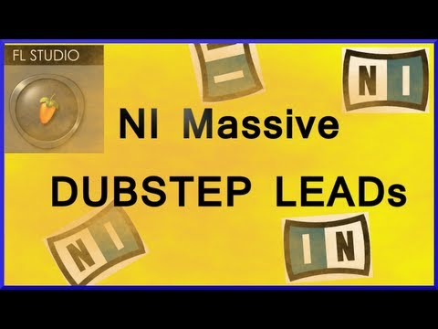 How to make dubstep leads using NI Massive Tutorial + free download