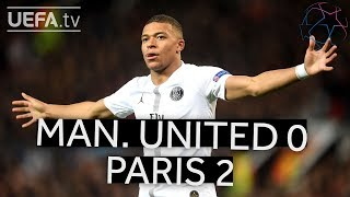 MAN. UNITED 0-2 PARIS #UCL HIGHLIGHTS