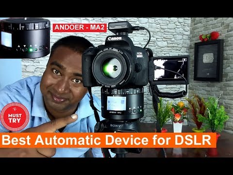 Try this Awesome Gadget | Best for DSLR users for Timelaps 360 D Panorama  photos & Videos