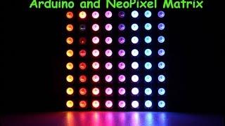 8x8 RGB LED Matrix Display Module #ST-00050