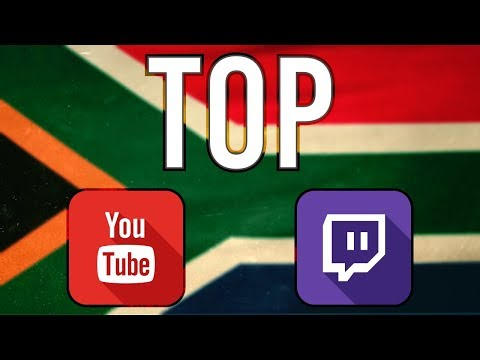 The biggest YouTubers and Streamers in SOUTH AFRICA