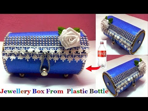 Easy Jewellery Box/Bangle box/Valentine Gift Box from waste plastic bottle|Best out of waste