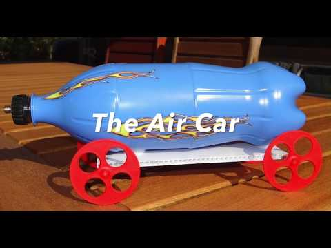 How to make a compressed air powered car