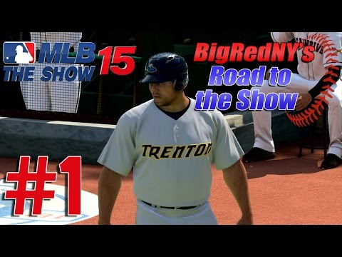 MLB 15 The Show PS4 Road To The Show - Ep. 1 -