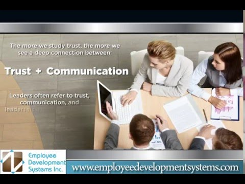 How Trust and Communication Effects the Workplace