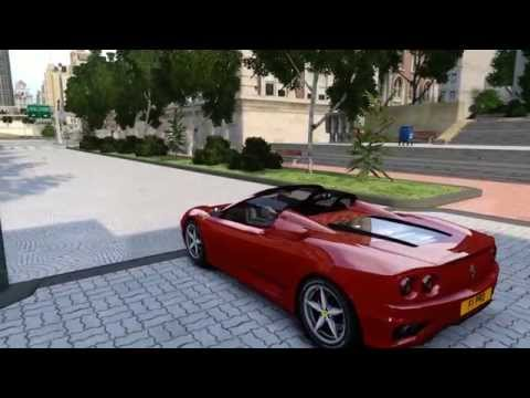 GTA 4 - BEST ENB (2000 Ferrari 360 spider)
