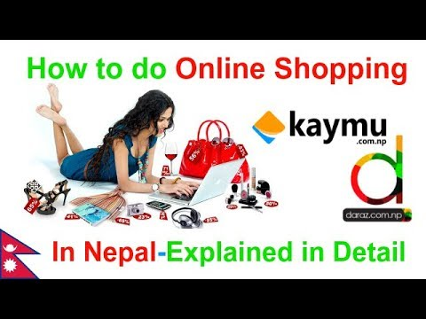 How to do online shopping in Nepal