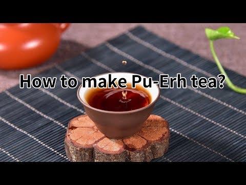 How to make Pu-Erh tea?(http://www.tea-tao.com)