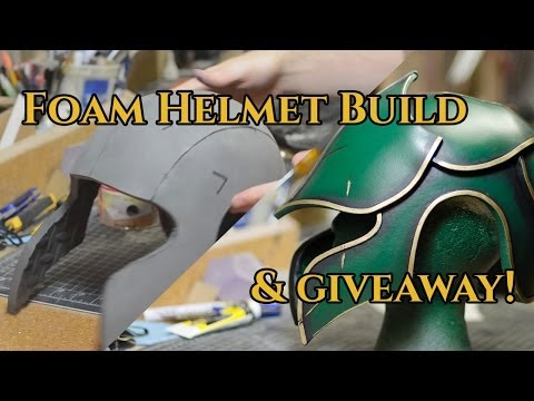 Prop: Shop - Foam Fabricated Helmet Tutorial