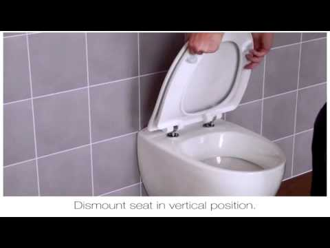 How To Fit A Pressalit D02 Toilet Seat Hinge