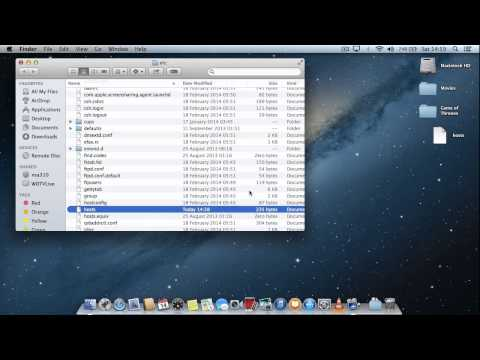 Mac OS X : Block Website or Web Service (Edit hosts file)