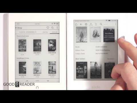 Nook vs Kindle bookstore