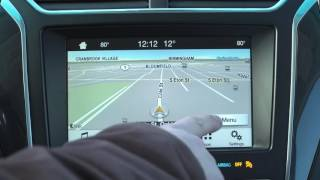 Ford SYNC 3 with Sygic navigation via AppLink