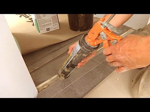 How to Make and Install Flat Transition Between Hardwood Floor and Tile Tricks MrYoucandoityourself