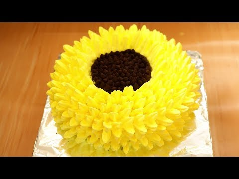 Flower | Cake Decorating Tutorial | Kitchen Time with Neha
