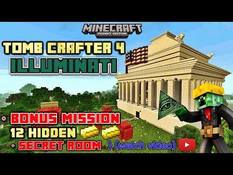 Tomb Crafter 4 illuminati Part 1 Minecraft 0.14.X minecraftstyler777