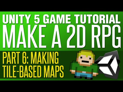 Unity RPG Tutorial #6 - Making Tile Maps
