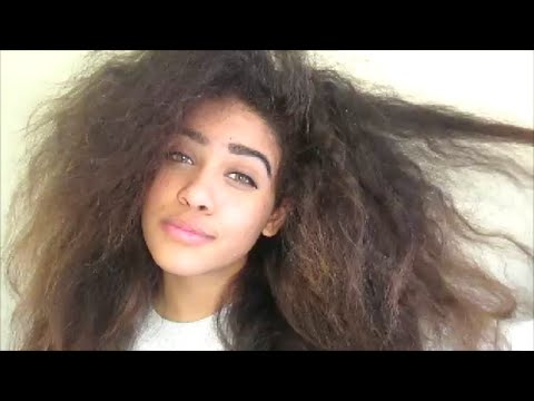 How to Take Care of Curly Hair || Curly Hair Routine