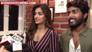 Tiger Shroff, Disha Patani, Nidhi Agarwal At Salon Launch