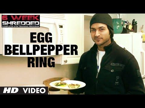 Egg Bellpepper Ring: Fat Loss Recipe | Health and Fitness Tips | Guru Mann