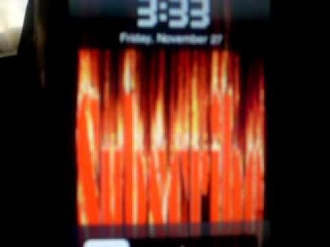 HoW To MaKe YoUr OwN(ITOUCH/IPHONE) FlAmE TeXt AnImAtiOn LoCkScReEn(MORE OPTIONS TOO)