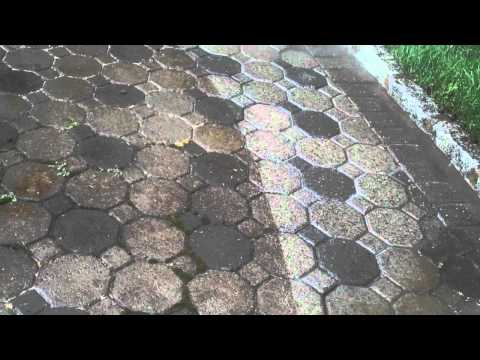 How to Pressure Clean Brick Paving (914) 788 WASH (9274)