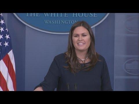 4/13/2018: White House Press Briefing