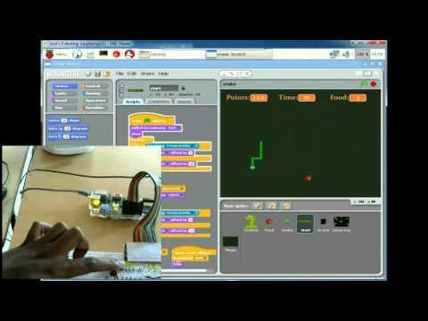 Create a Snake Game utilizing Scratch