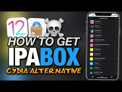 How To Get IPABOX ON iOS 12 - CYDIA ALTERNATIVE - TWEAKED APPS - ++APPS - CYDIA APPS For iPhone