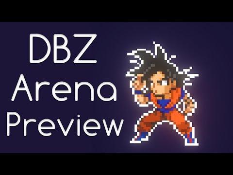 Dragonball Super Fan Game - DbzArena - Dev Preview #3