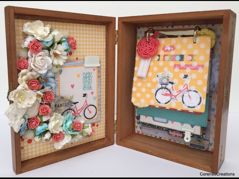 Altered Cigar Box Album~Wild Orchid Crafts!