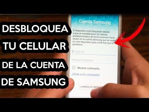 COMO ELIMINAR CUENTA DE SAMSUNG GALAXY S3 S4 S5 S6 S7 S8 (cualquier Samsung) 2018