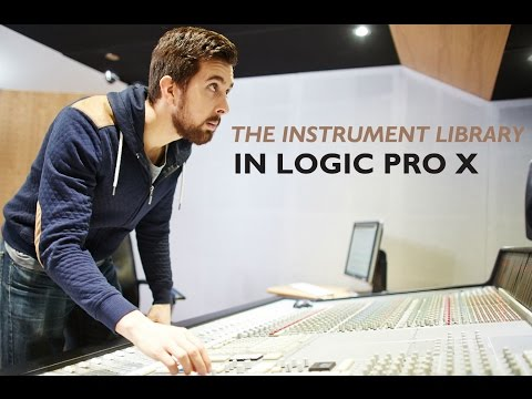 Logic Pro X - The Instrument Library