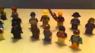 лего человечки ниндзяго самоделки собираем человечков