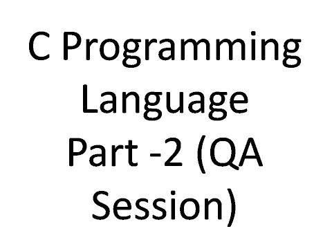 C Programming Language Tutorial in Bengali (Part-2 Question Answer) [Find quotient and remainder]