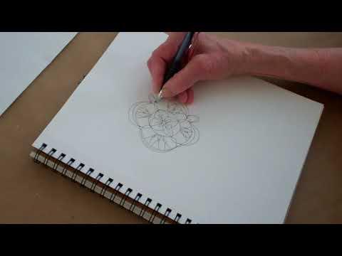 Four Meditative Drawings