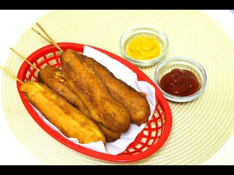 Homemade Corn Dogs Recipe - Banderillas - in the Kitchen With Jonny Episode 73