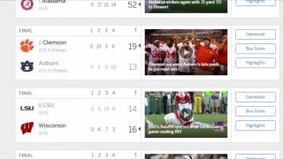 ESPN College Football Scores | College Football Scores 2016 | College Football Scores Today | Sept 4
