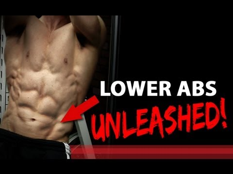 LOWER ABS UNLEASHED - 3 Exercises! (V-CUT Abs)