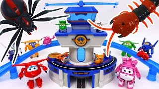 Go Go Super Wings~! World Airport is Under Attack by Monsters