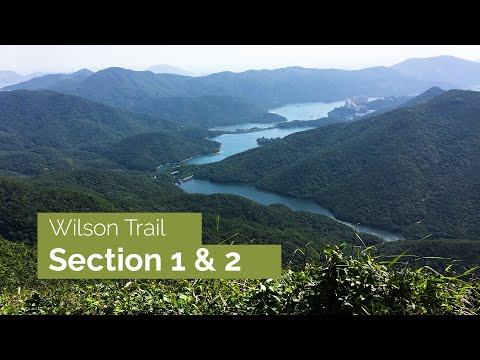 Wilson trail sections 1 & 2 - up and over Hong Kong Island