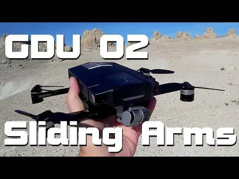 GDU O2 Sliding Arm 4K Camera 3 Axis Gimbal Obstacle Avoidance Drone Flight Test Review