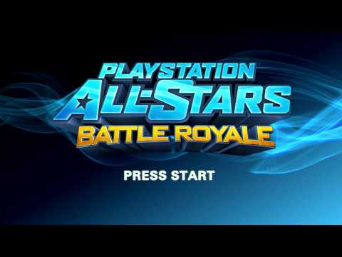 Playstation All Stars Battle Royale Title Theme Animatic (2012, Sony)