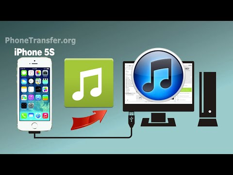 How to Sync Music from iPhone 5S to iTunes, Copy iPhone 5S Playlist to iTunes